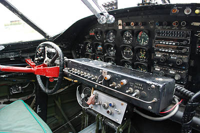 Photograph - Catalina Cockpit by Mark Alan Perry