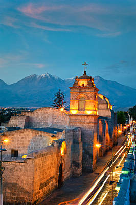 Photograph - Catalina Convent Arequipa by Ulrich Schade