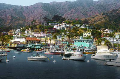 Catalina Express  View Art Print by Joseph Hollingsworth