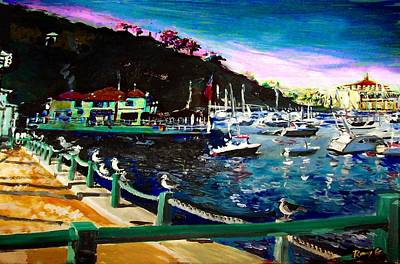 Catalina Island 1 Art Print