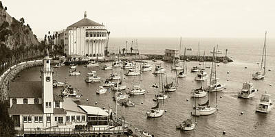 Catalina Island. Avalon Art Print
