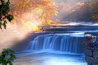 Cataract Falls Indiana Art Print