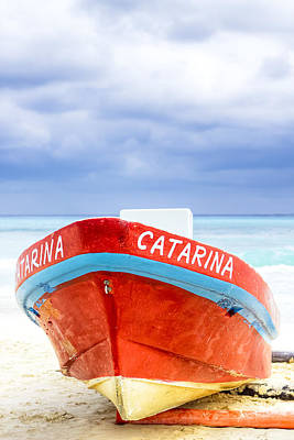 Photograph - Catarina - The Little Boat And The Sea by Mark E Tisdale