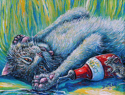 Painting - Catatonic by Gail Butler