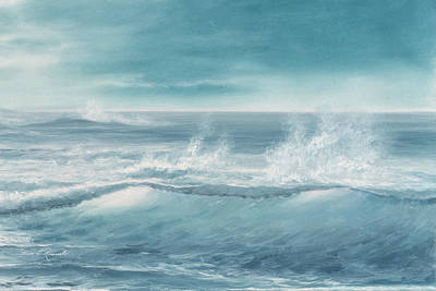 Painting - Catch A Wave by Diane Romanello