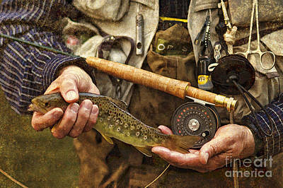 Photograph - Catch And Release - D001102-b by Daniel Dempster