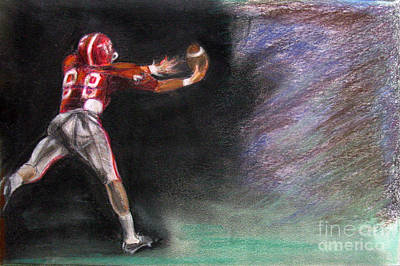 Pastel - Catch by Michael Anthony Edwards