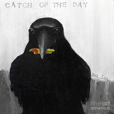 Catch Of The Day  Original by Cristina Del Sol