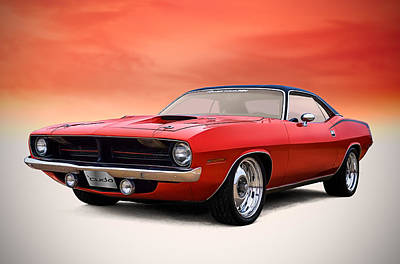 Plymouth Cuda Digital Art - Catch Of The Day by Douglas Pittman