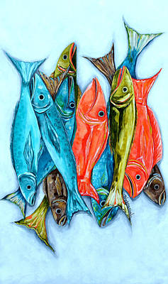 Painting - Catch Of The Day by Patti Schermerhorn