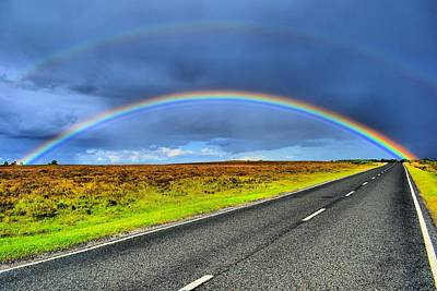 Photograph - Catch The Rainbow by Dave Woodbridge