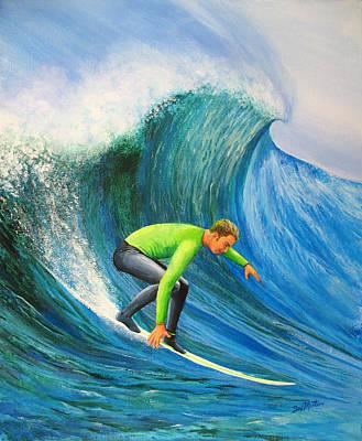 Catch The Wave Original by Bev Martin
