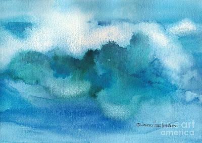 Catch The Wave Art Print by Joan Hartenstein
