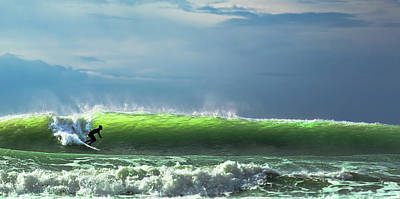 Santa Wall Art - Photograph - Catch The Wave by Massimo Mei