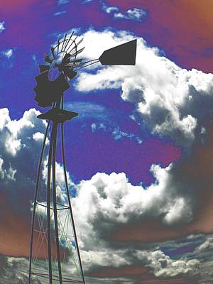 Art Print featuring the photograph Catch The Wind by Diane Miller