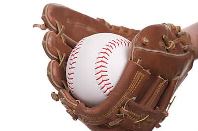 Photograph - Catching Baseball by Marek Poplawski