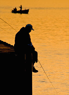 Angling Photograph - Catching Dreams by Odd Jeppesen