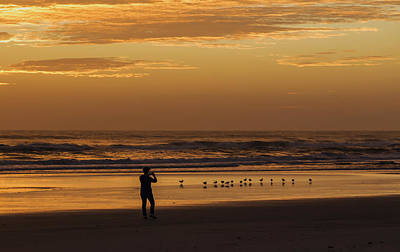 Photograph - Catching The Early Bird by Kathleen Scanlan