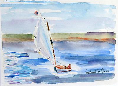 Catching The Wind Art Print