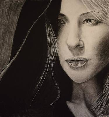 Cate Blanchett Drawing - Cate Blanchett by David Hendrickson