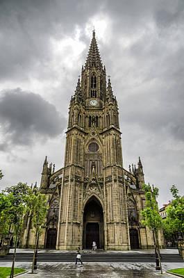Saint Sebastian Photograph - Catedral Del Buen Pastor by Pablo Lopez