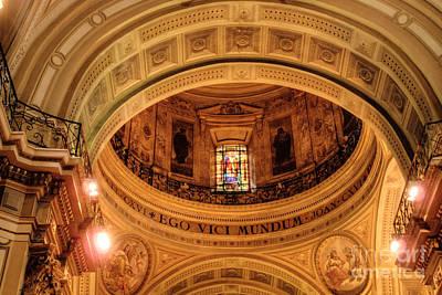Photograph - Catedral Metropolitano Dome by Deborah Smolinske
