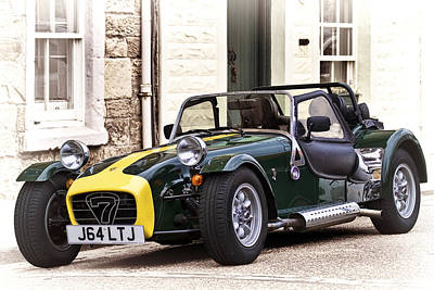 Hot Photograph - Caterham 7 by Marcia Colelli