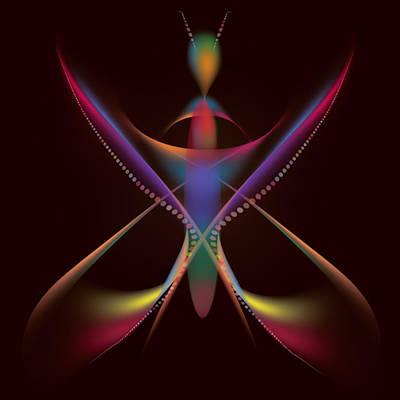 Butterlfy Digital Art - Caterpillar Dream Digital Painting by Costinel Floricel