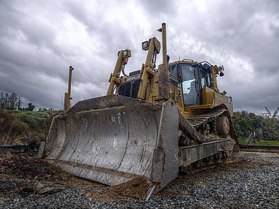 Photograph - Caterpillar Storm 2 by Richard Reeve