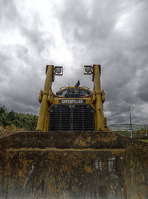 Photograph - Caterpillar Storm 3 by Richard Reeve