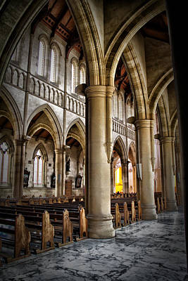 Cathederal Interior Art Print by John Monteath