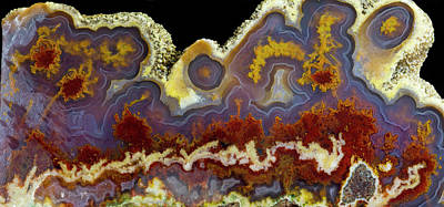 Cathedral Agate (large Format Sizes Art Print by Darrell Gulin