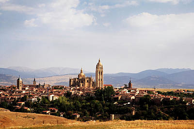 Spain Photograph - Cathedral And Town by Angus Oborn