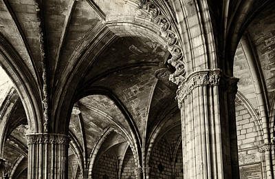 Photograph - Cathedral Arches by Jack Daulton