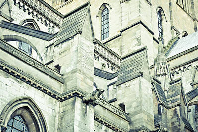 Cathedral Architecture Art Print by Tom Gowanlock