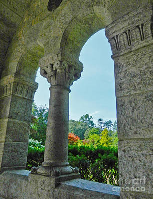 Photograph - Cathedral Archway by Val Miller