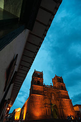 Barichara Photograph - Cathedral At Blue Hour by Jess Kraft