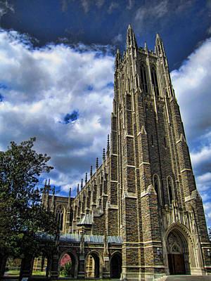 James Bond Photograph - Cathedral At Duke University by James  Bond