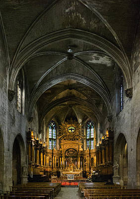 Photograph - Cathedral Avignon Franc by Bob Coates