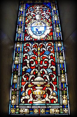 Photograph - Cathedral Basilica Glass by Laurie Perry