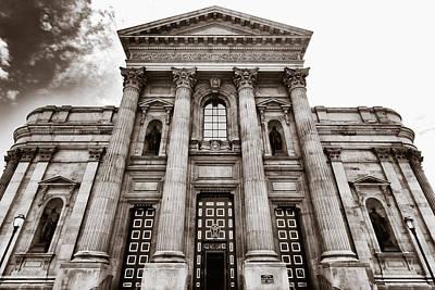 Cathedral Basilica Of Saints Peter And Paul - Philadelphia Art Print