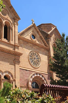 Cathedral Basilica Of St. Francis Of Assisi Art Print by Elizabeth Sullivan