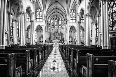 Photograph - Cathedral Basilica Of The Immaculate Conception 1 by John McArthur