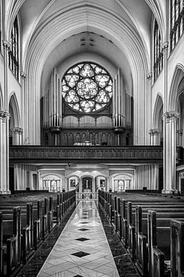 Photograph - Cathedral Basilica Of The Immaculate Conception 2 by John McArthur