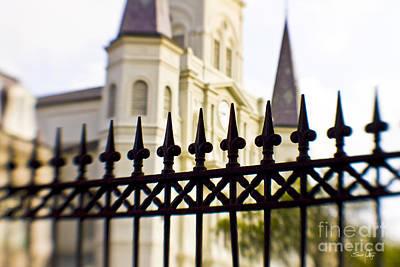 Fleur De Lis Photograph - Cathedral Basilica by Scott Pellegrin