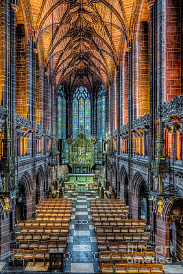 Cathedral Chapel Art Print by Adrian Evans