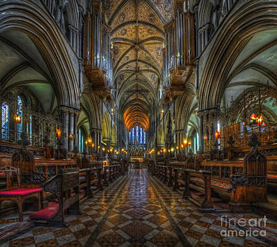 Photograph - Cathedral Choir by Yhun Suarez