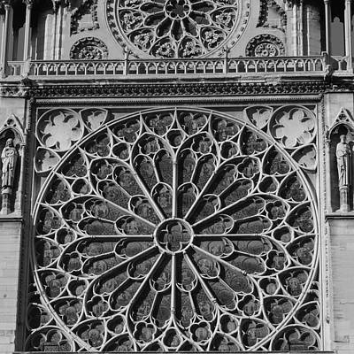 Photograph - Cathedral De Notre Dame by Cheryl Miller