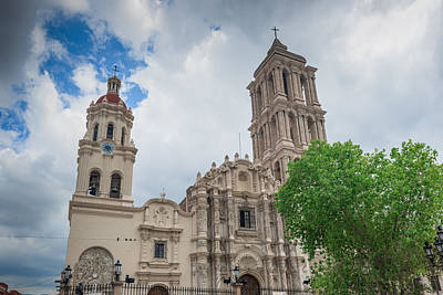Photograph - Cathedral De Santiago In Saltillo Mexico by Marek Poplawski