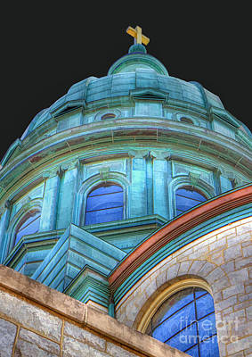 Photograph - Cathedral Dome by Geoff Crego